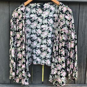Forever 21 Floral Kimono Large